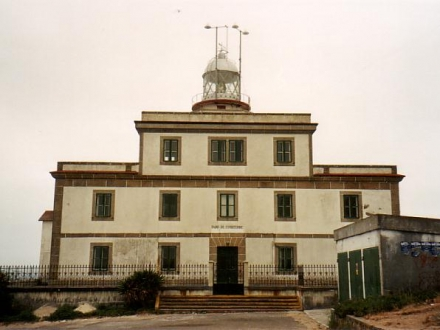 Edificio do faro de Fisterra